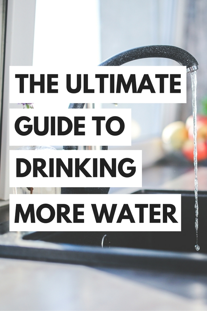 Drinking water and staying hydrated can be tricky, but I've got you covered with this ultimate guide to drinking more water!