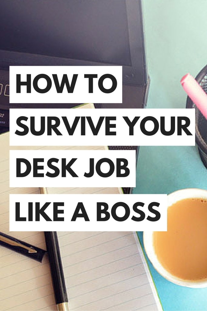 Even if you love your job, work can still be a little dull, especially if you're stuck at a desk all day. Luckily, there are some things that you can do to perk up your day!