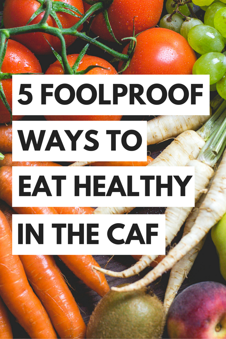 5 Foolproof Ways To Eat Healthy In The College Cafeteria