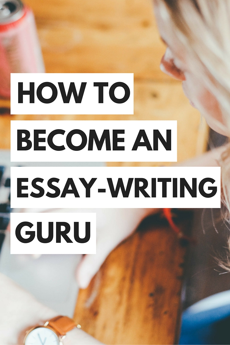 Need essay writing tips pdf