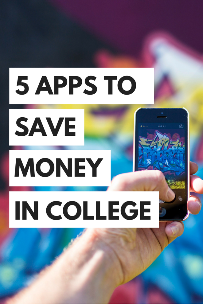 It can be so hard to save money in college, but here are five apps that can help you save money in college!