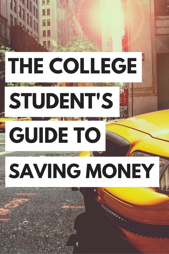 Learn how to save money while you're in college!