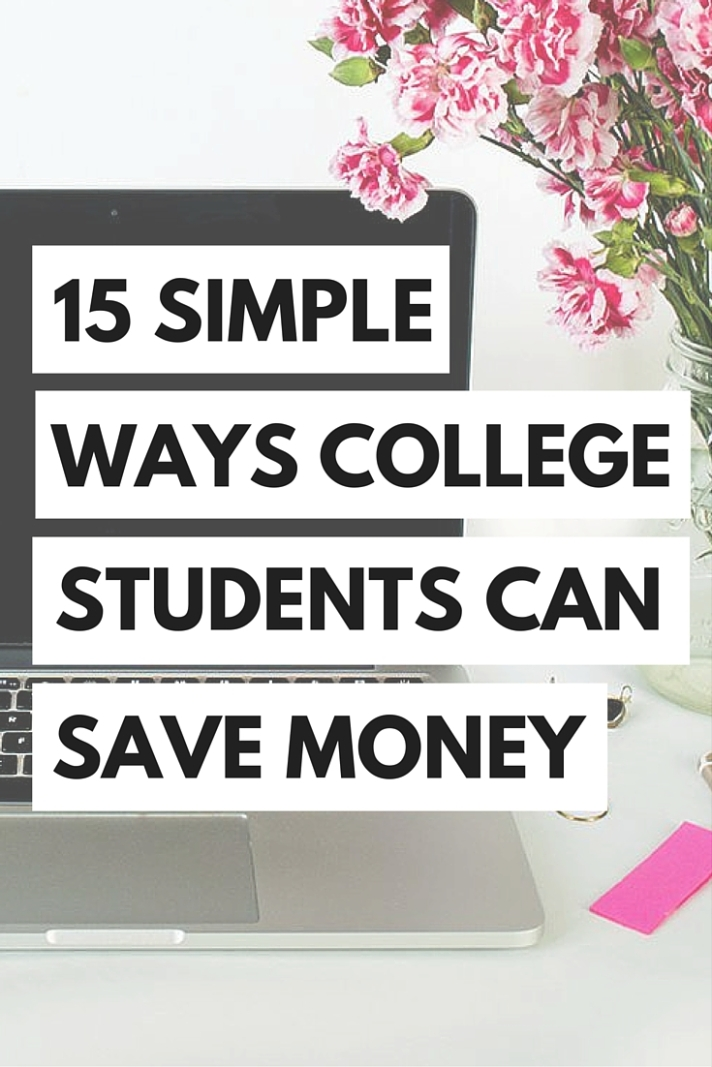 Saving money when you're paying college tuition can be a real struggle, but it doesn't have to be with these tips on how to save money in college!