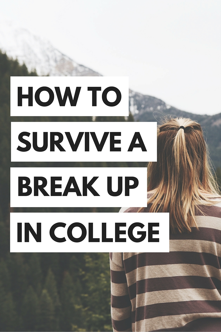 Honestly, breakups are always hard, but they can be even more difficult in college. Here's what the experts have to say about how to survive a break up in college!