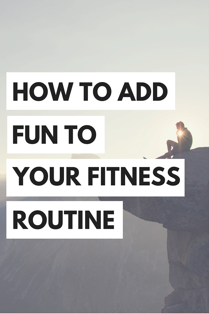 Here's some tips on how to make your fitness routine more fun so that you can stay healthy in college!