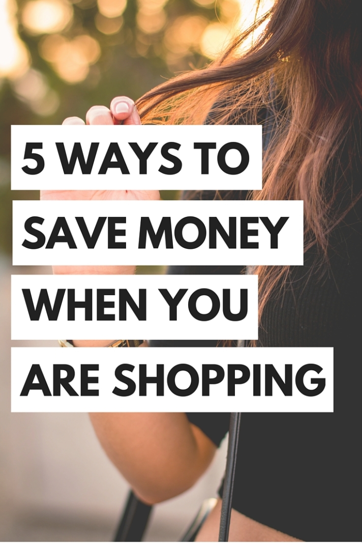 We all know how easy it is to spend way too much money when you are shopping, so we're here to give you some tips on to save money, but still have fun shopping.