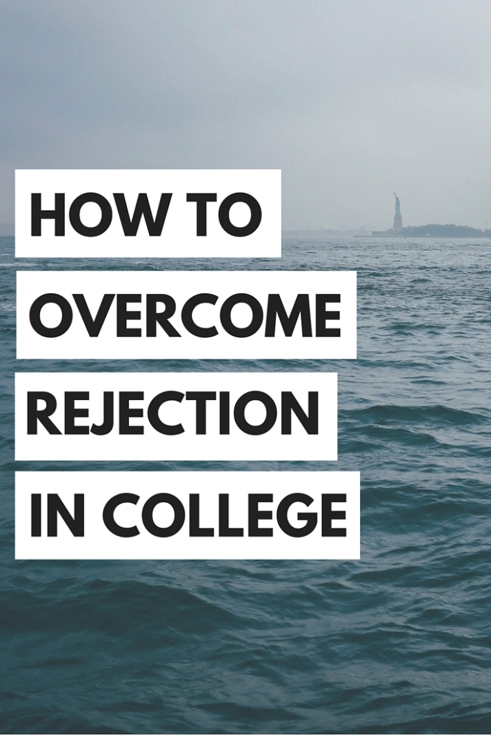 Rejection in college can be really hard to deal with, but we have some tips on how to overcome rejection in college.
