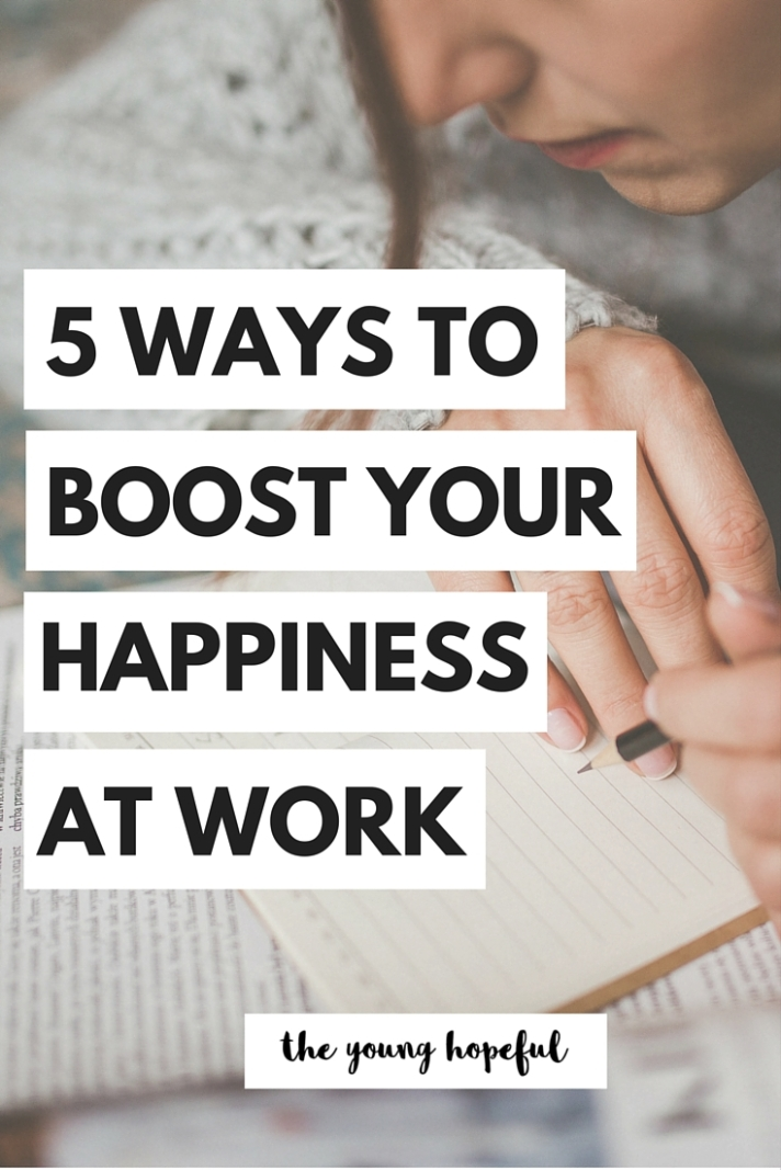Hack your job! Here's how to boost your happiness at work!