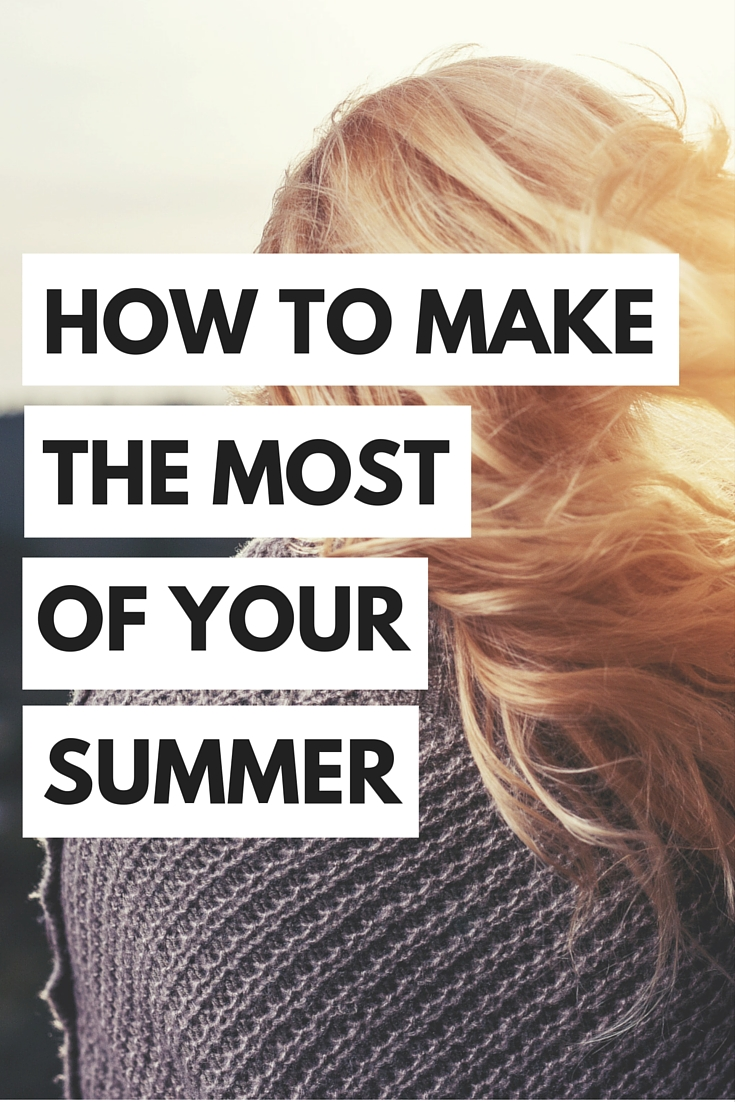 Summer is the perfect time to plan ahead for your career. If you make the most of your summer, it can contribute to your future personal growth!