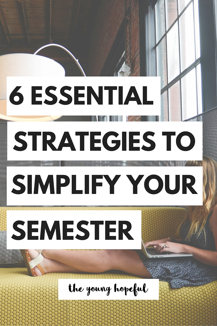 Make your semester a little bit simpler with these strategies to stay organized in college.