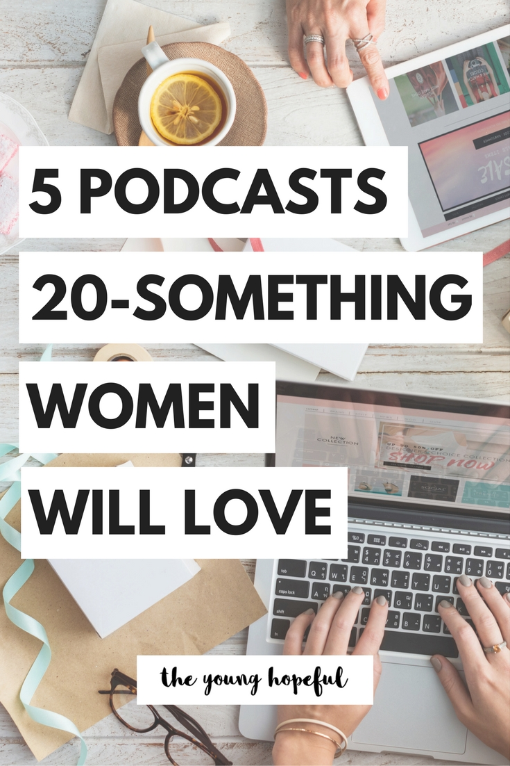 With so many podcasts out there, it's hard to figure out which ones are actually worth listening to, so I'm here to help you out and talk about some of my favorite podcasts for 20-something and college women.